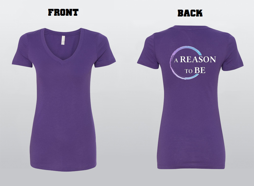 A Reason To Be Women's V-Neck Shirt