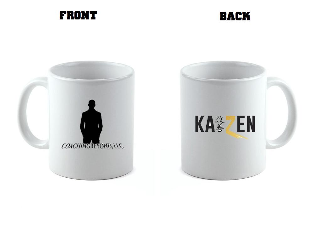 Coaching Beyond Kaizen Coffee Cup