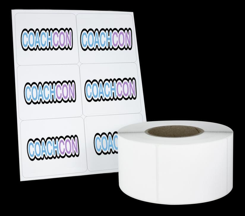 CoachCon Stickers