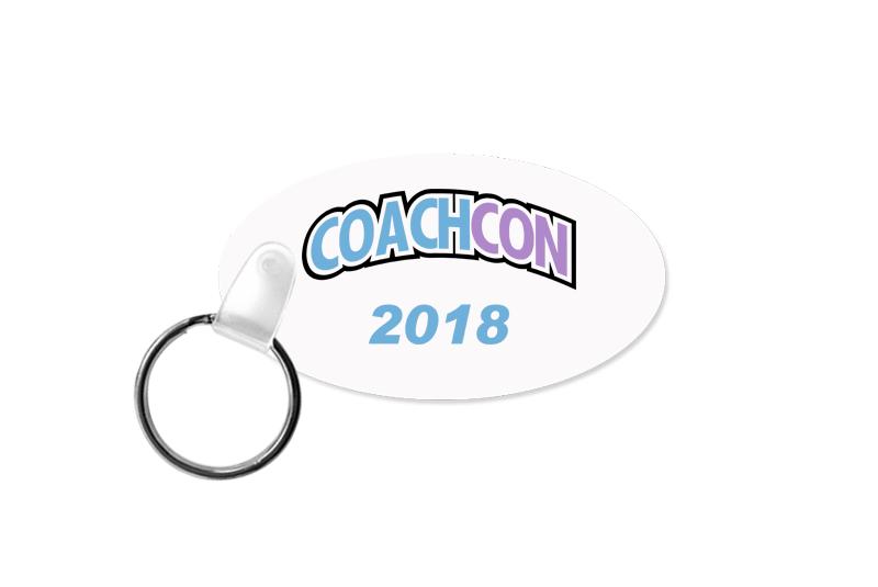 CoachCon Keychain