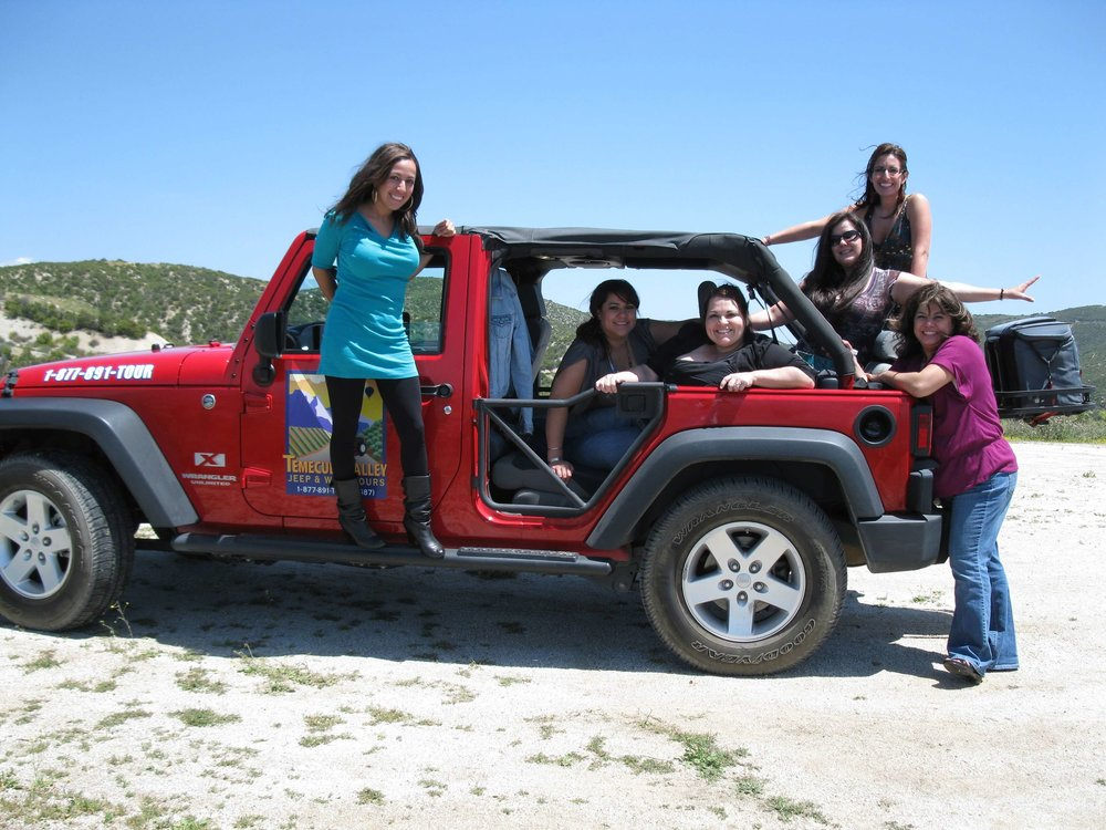 jeep and wine tour