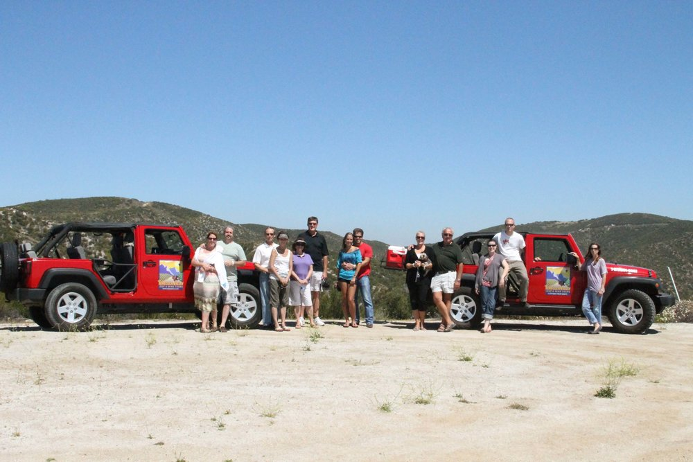 jeep tour in San Diego