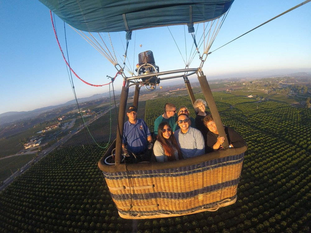 Balloon Tour in Temecula