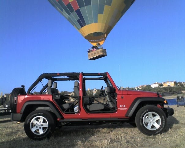 Balloon and Jeep wine tours