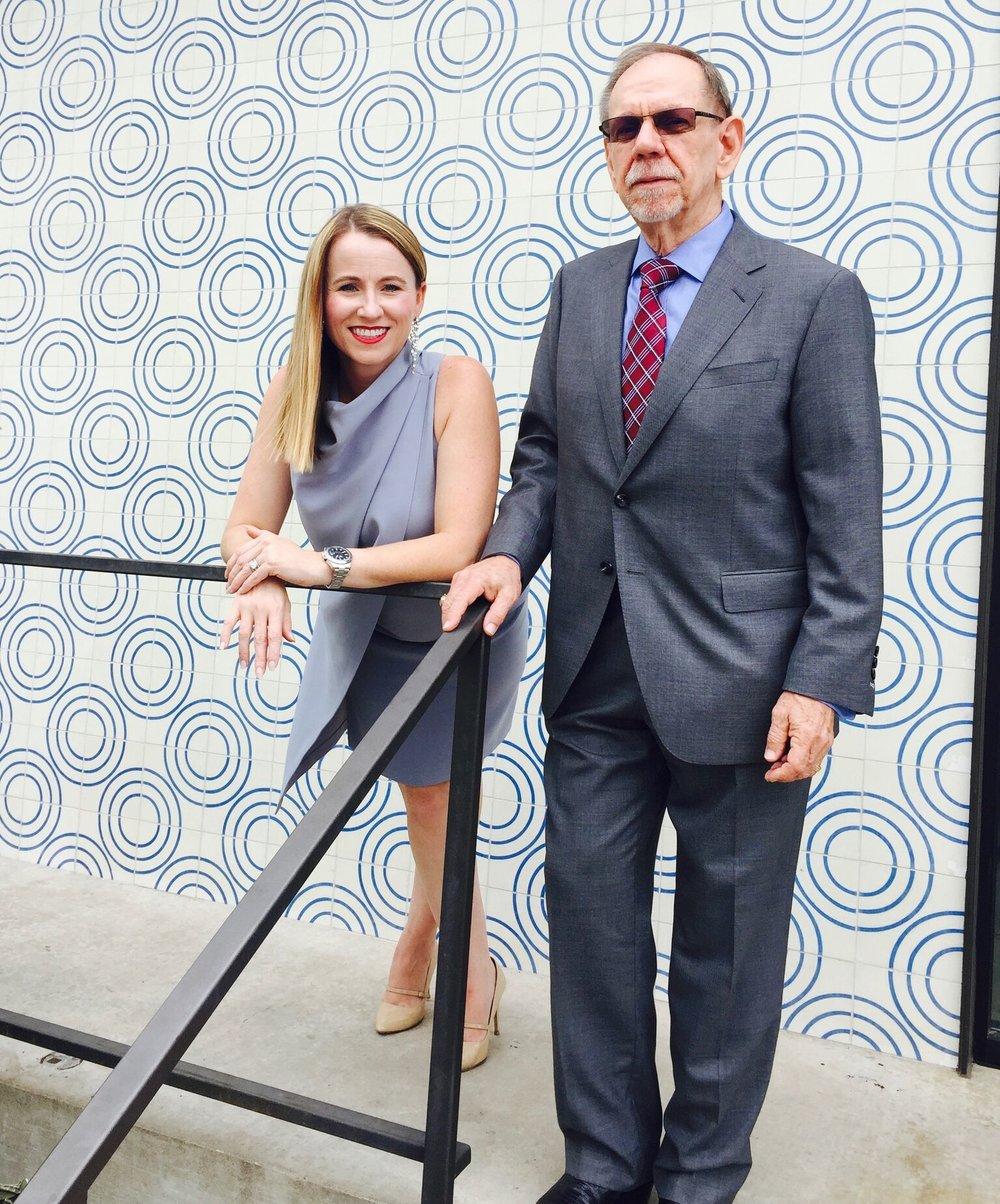 V. Bruce Evans and Beck-Reit Commercial Owner DeLea Becker