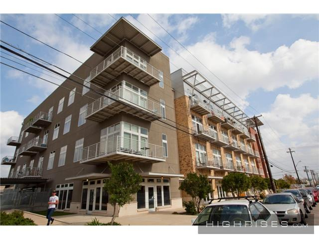 With CodeNEXT's density bonus program, typical East Austin apartments like these could grow by three stories if developers agree to retain a percentage of their total units for low-income tenants.
