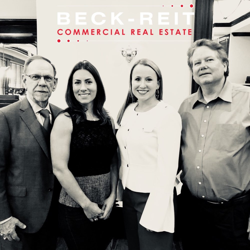 V. Bruce Evans & DeLea Becker of CTCAR with Luncheon Presenters