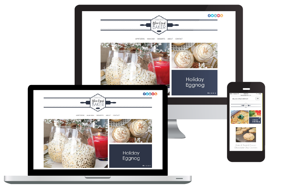 Food Blogger Website Design and Management