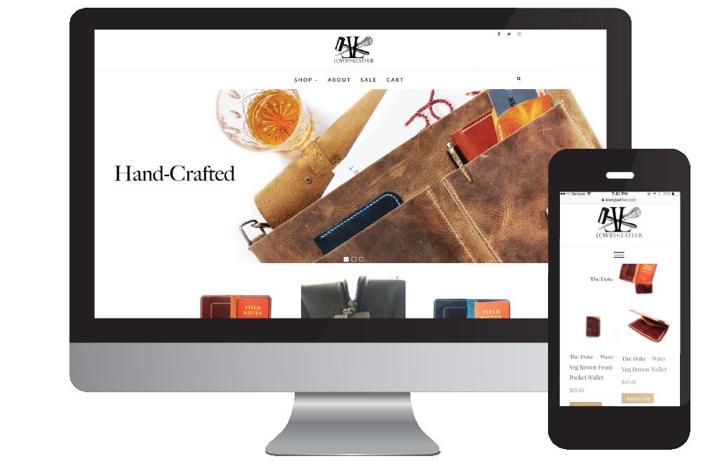 ecoomerce wordpress web design