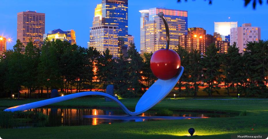 Minneapolis cherry on spoon