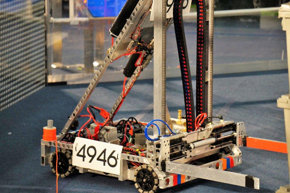 Our 2015 Robot, Elder Moler