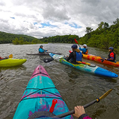 Kayak instruction and safety courses