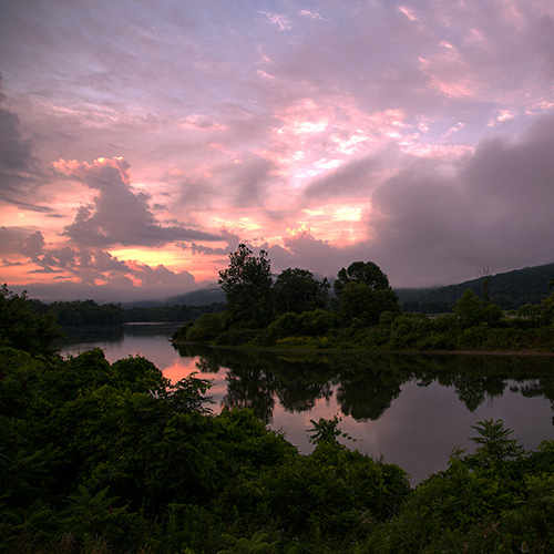 Allegheny River overnight canoe trip rental