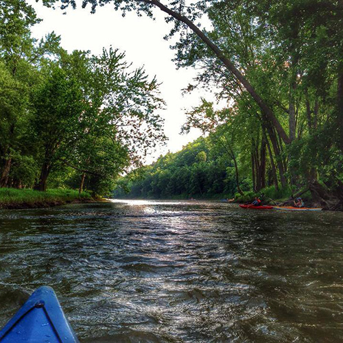 allegheny river canoe rental