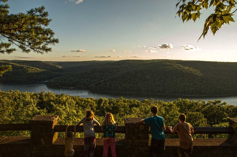 Rimrock Trail Overlook, Allegheny National Forest