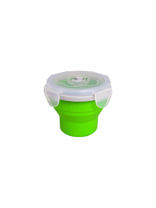 Eco Vessel Collapsible Silicone Food Container 8 Oz Allegheny