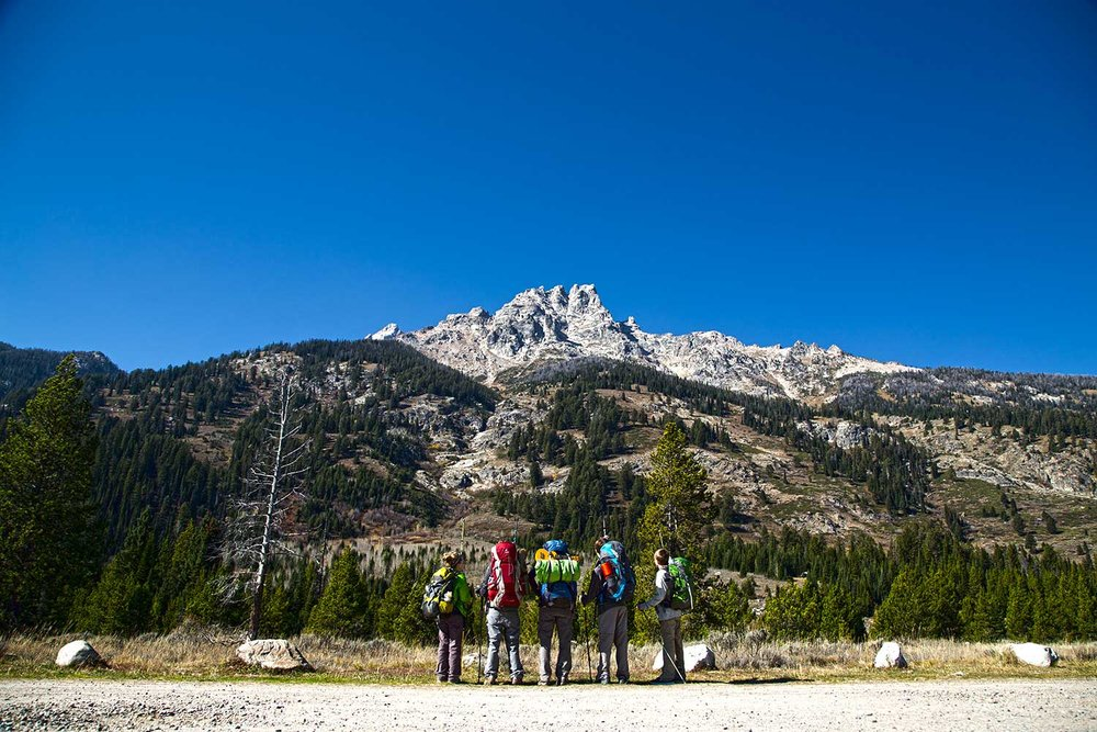Backpacking Grand Teton National Park with kids