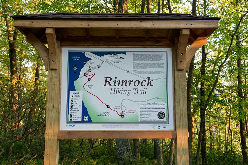Rimrock Trailhead - Allegheny National Forest