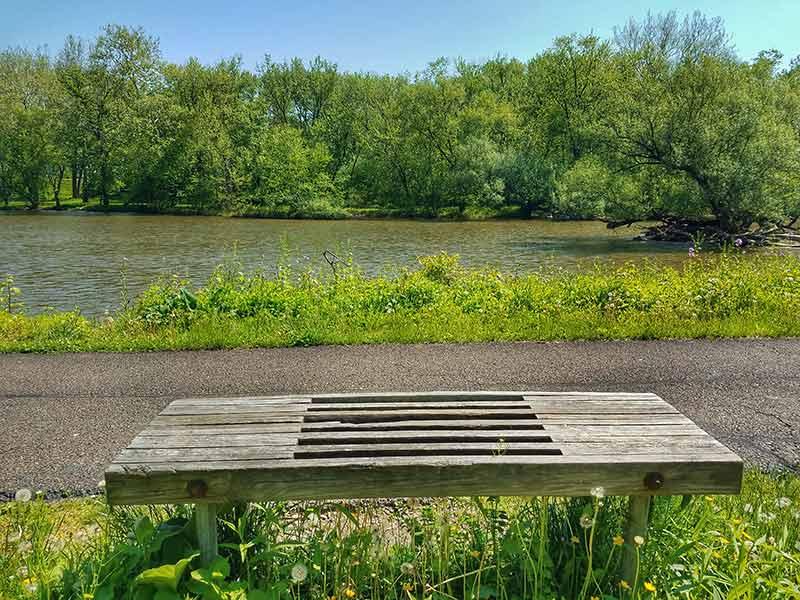 Conewango Creek Bench