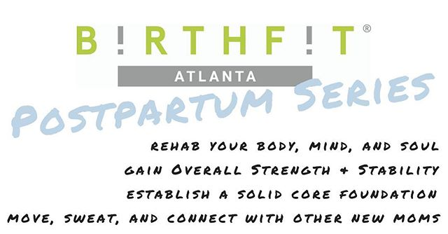 We kick off next Monday! Spots still available for the ATHENS series and the JOHNS CREEK series! Register thru link in bio! You will not regret investing in yourself during your postpartum! #birthfit #birthfitatl @birthfitabi @crossfitliberate @synergyjohnscreek