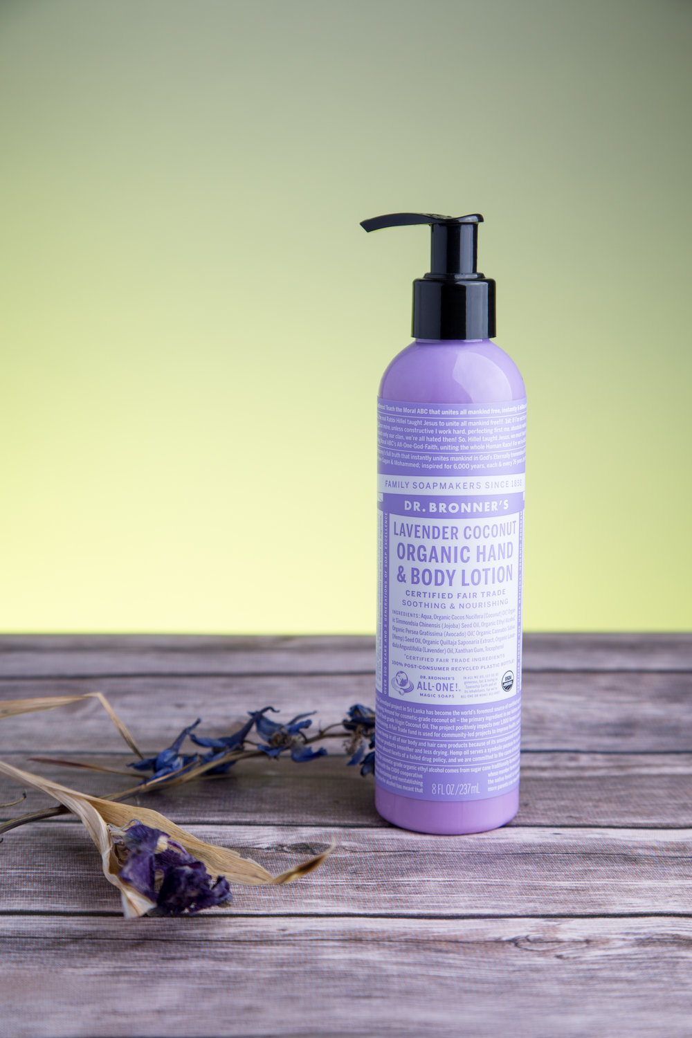 Dr. Bronner's Lavender Coconut Hand & Body Lotion