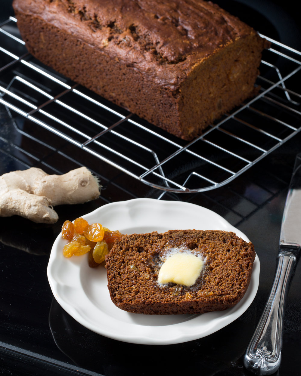 Ginger Molasses Quickbread