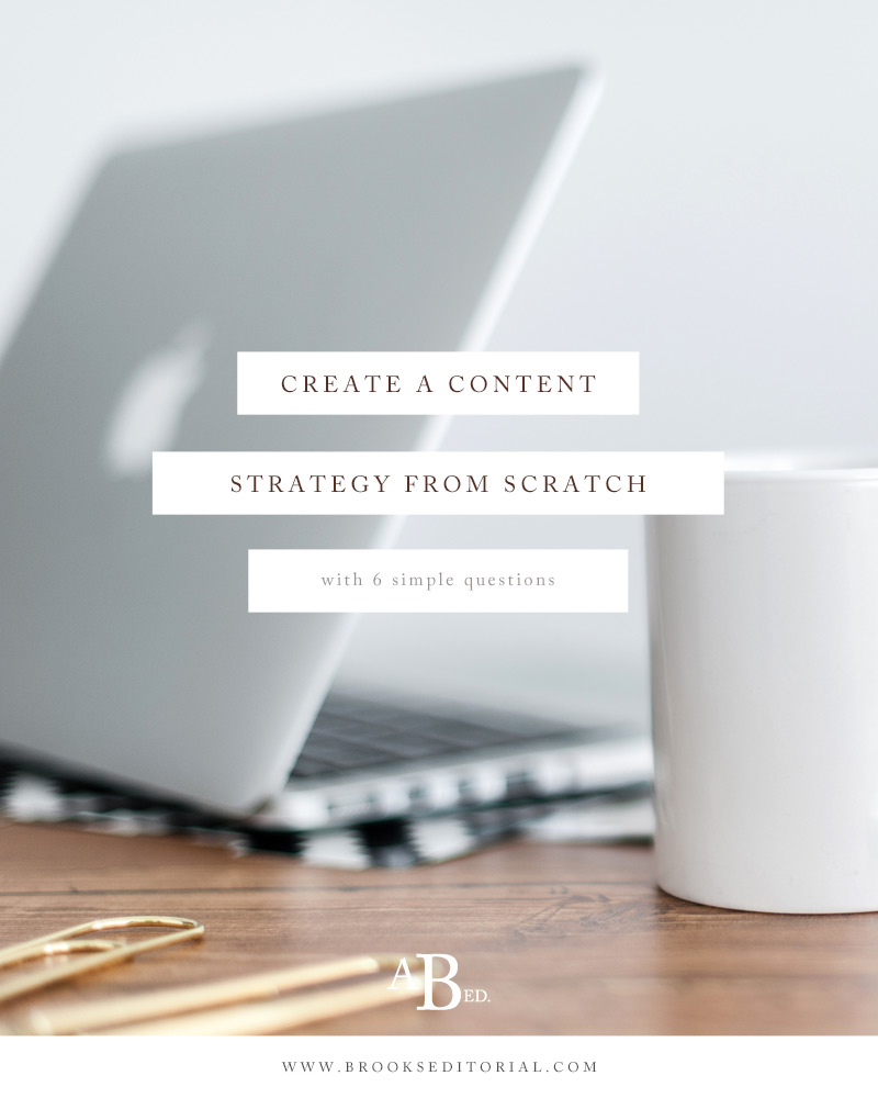 Building a blog strategy doesn't have to be complicated. Create a content strategy from scratch with these 6 simple questions!