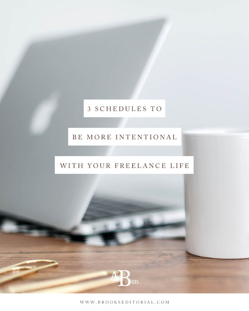 Struggling to be intentional and productive in your creative business? These 3 alternative schedules will help you take advantage of your flexible schedule as a freelancer.