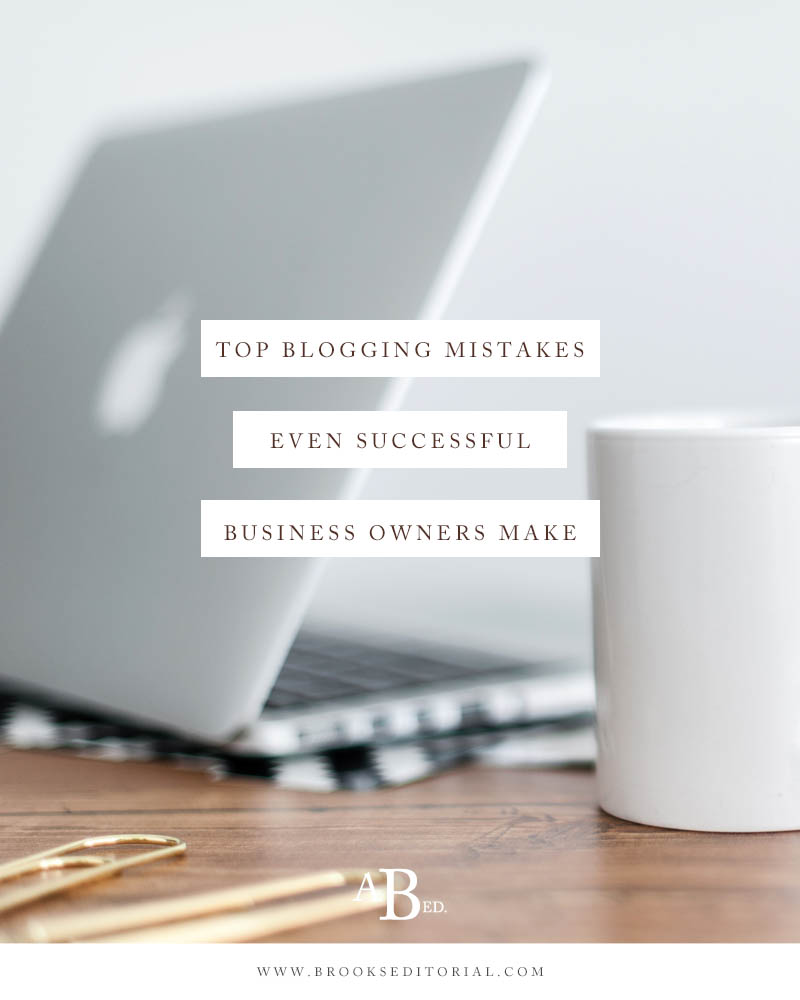 Top Blogging Mistakes Even Successful Solopreneurs Make