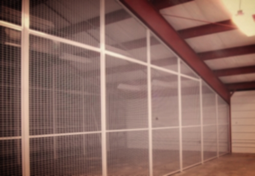 WIRE MESH PARTITIONS - Tierpoint II Data Center, OKCCherokee Casino, GroveArmed Forces Reserve Center, Broken ArrowMRO Transformation, Tinker AFB