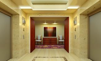 ELEVATOR LOBBY -