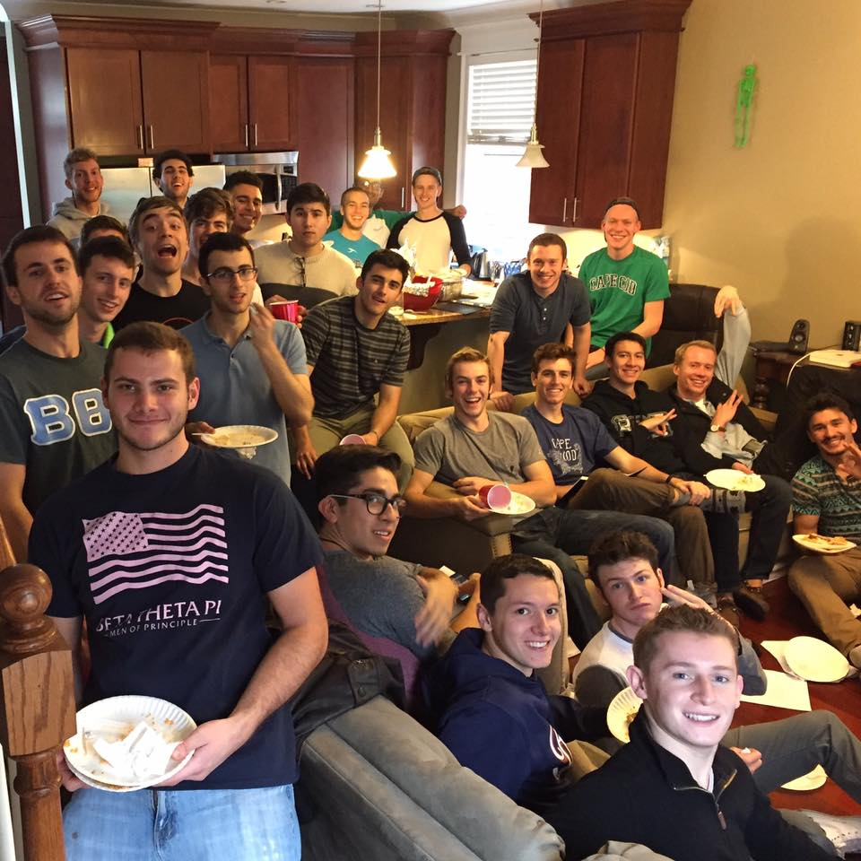 Among the favorite events of the brothers is the Beta Cook-Off. Split up into several teams and assigned a region of the world, brothers compete to make the best 3 course meal. Of course, the event culminates in a fraternity buffet meal!