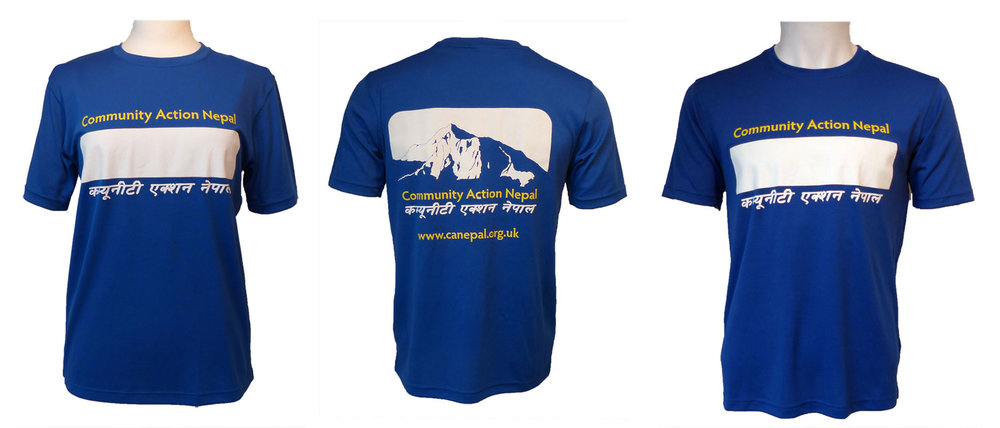 Technical T-Shirt - let us know when and where you are running and we will send you a shirt for good luck!
