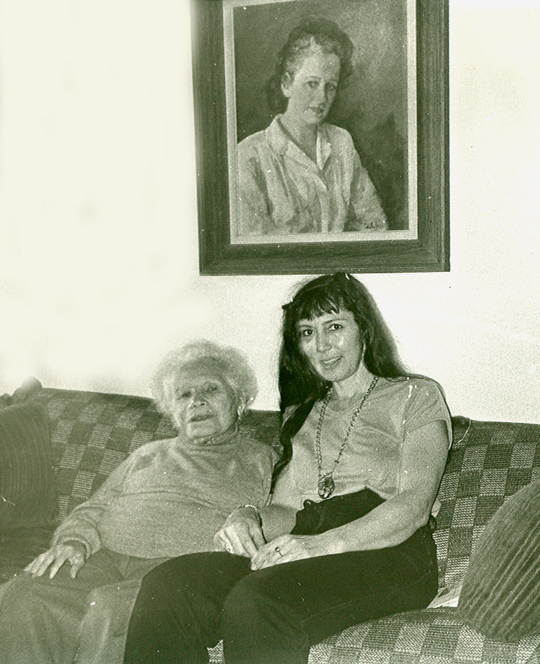 Paula and Loren with self portrait by Paula.jpg