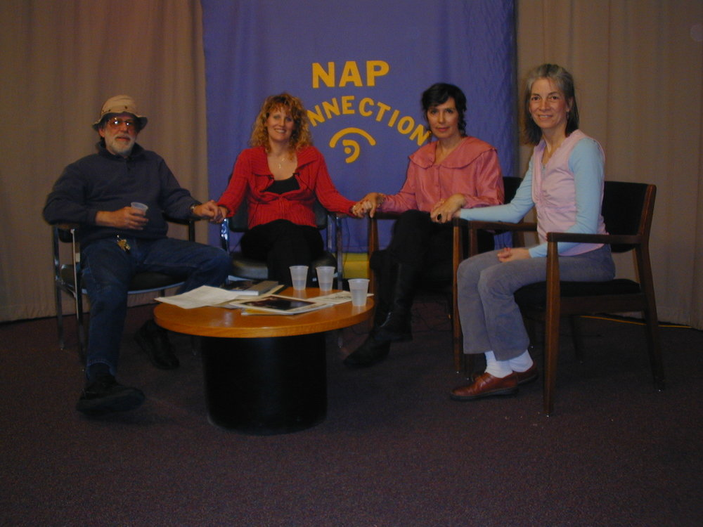 NAP New Arts Program Kutztown PA jan 05 holding hands.JPG
