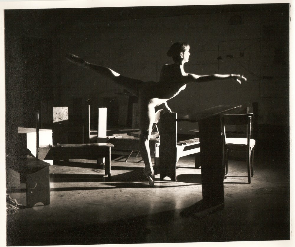Loren Ellis Ballet  in Fla. Painting Studio 1 of 3 8x10 1979.jpg