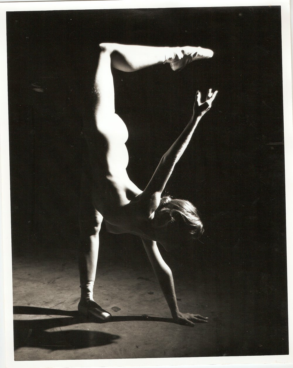 Loren Ellis Ballet  in Fla. Painting Studio 2 of 3 8x10 1979.jpg