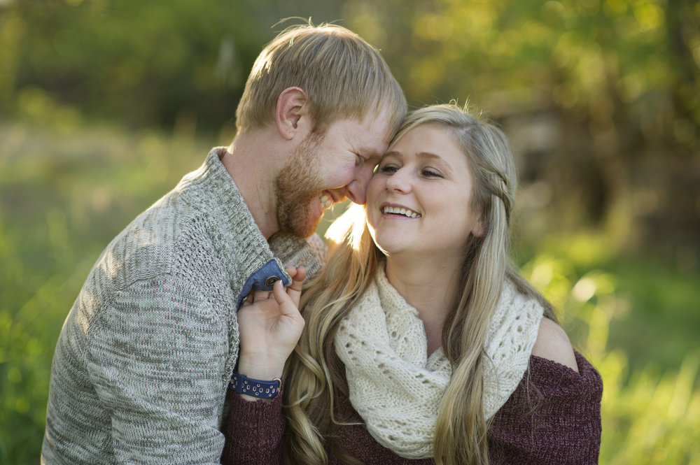 Nebraska Photographer - Derek & Megan Stahl - Engagement Session