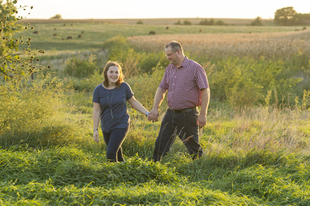 Nebraska Photographer - Couple Photos - Jon Halama & Maureen Beck