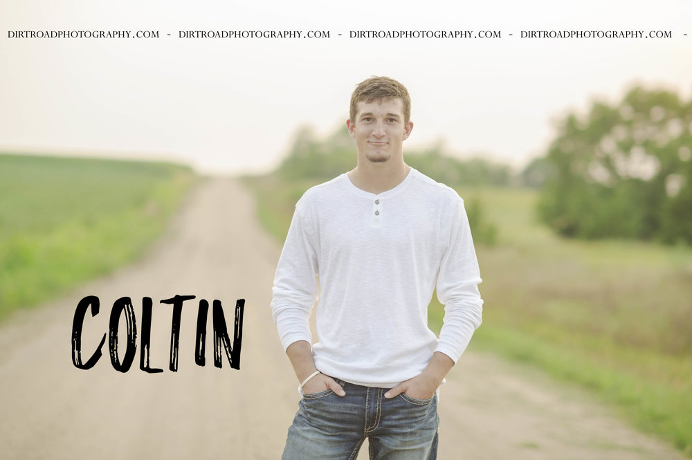 images of high school boy senior photos named coltin rezabek of wilber nebraska who went to wilber-clatonia high school in nebraska and is part of the class of 2019. photos were taken near wilber nebraska in saline county. photo includes guy on gravel road with white long sleeved shirt, and jeans with tennis shoes. photographer is kelsey homolka nerud of wilber nebraska who specializes in high school senior photography and senior pictures.