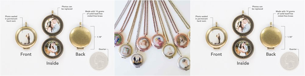 picture of chasing lockets and keychains with photos in them for photography clients near dorchester nebraska photographer kelsey homolka nerud