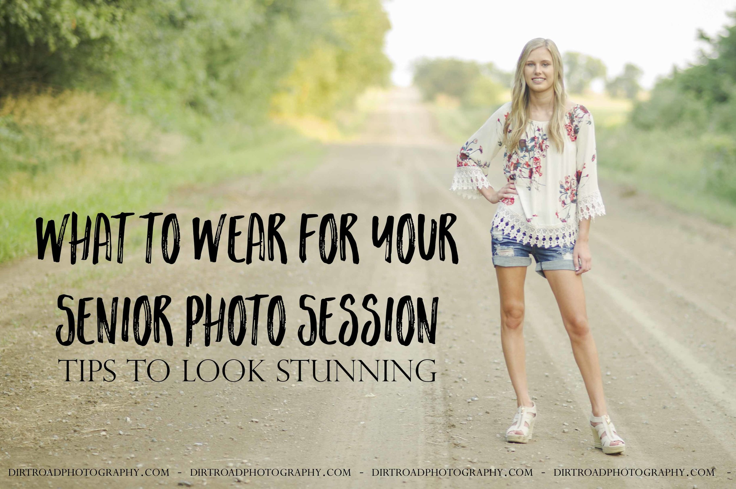 What To Wear For Your Senior Photo Session