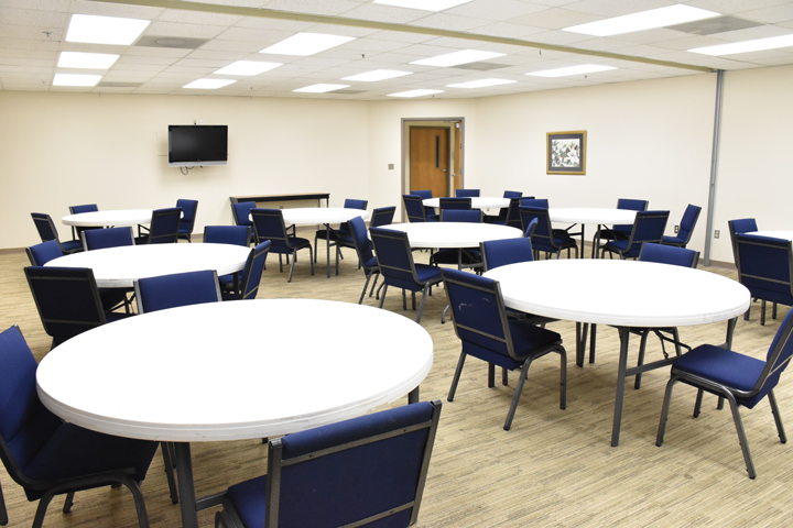 center for nonprofits at St. Mary's in Rogers round tables meeting room, nwark, northwest arkansas, ark, springdale
