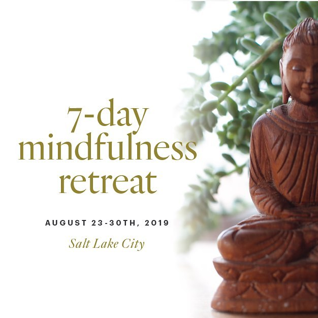 Registration now open for our annual 7-day mindfulness retreat. This year we will practice locally in our very own Salt Lake City at the historic Jane's home. Join us for a deep dive into individual and collective practice. Both beginners and advanced practitioners are welcome. Find details on our site - see link in bio. 🙏