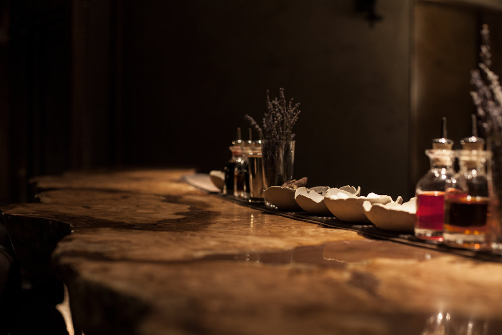 Hide Bar Below Bar Top Rustic Oak These White Walls Studio Interior Design Hide Restaurant London.jpg