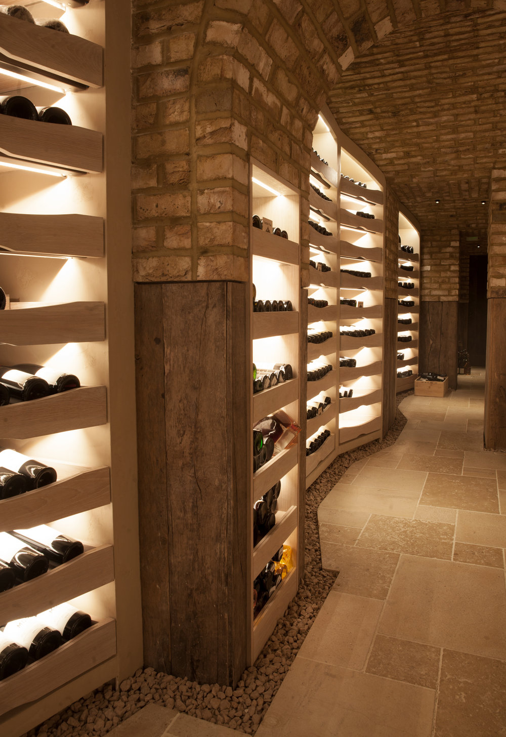 Vaults Wine from Hedonism Wines at Hide Mayfair Interior Design These White Walls Studio Restaurant London.jpg