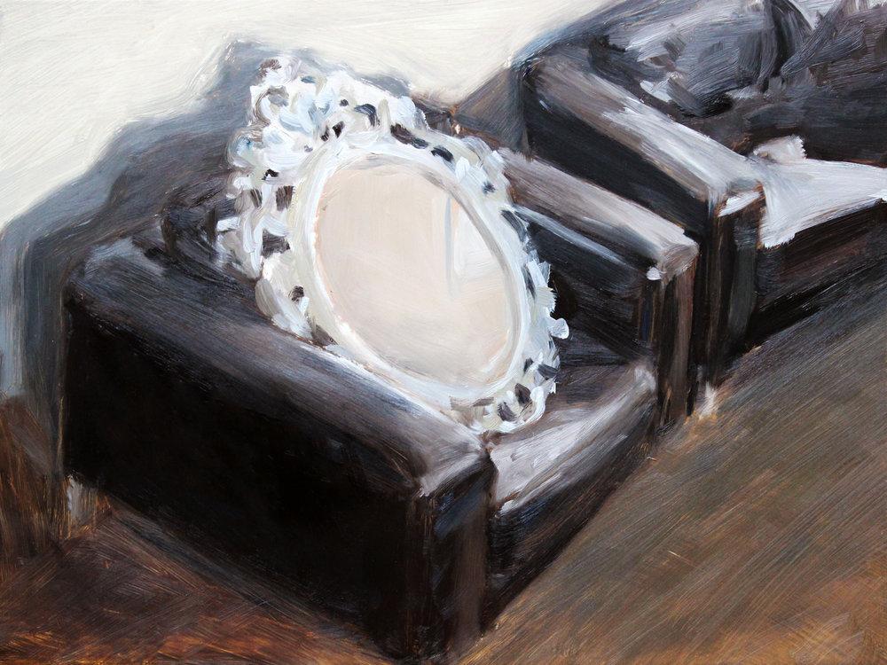 Empty Frame On Sofa