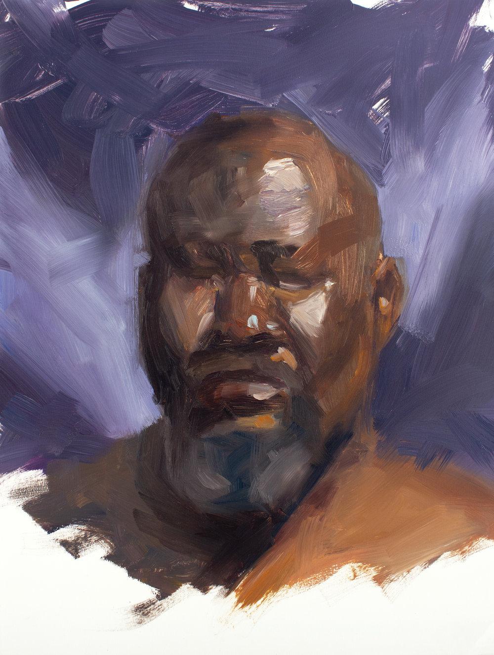 The Purple Portrait