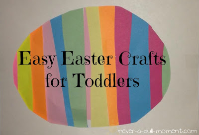 Easy Easter Crafts For Toddlers Sweet Stella S Birth And