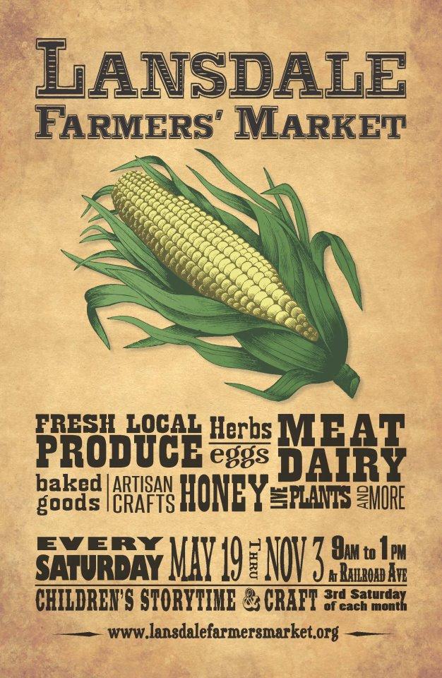 Lansdale Farmers' Market Flyer